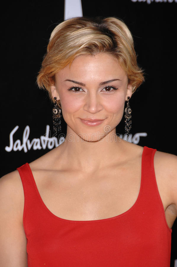 Download Samaire Armstrong Editorial Stock Image - Image: 24818714