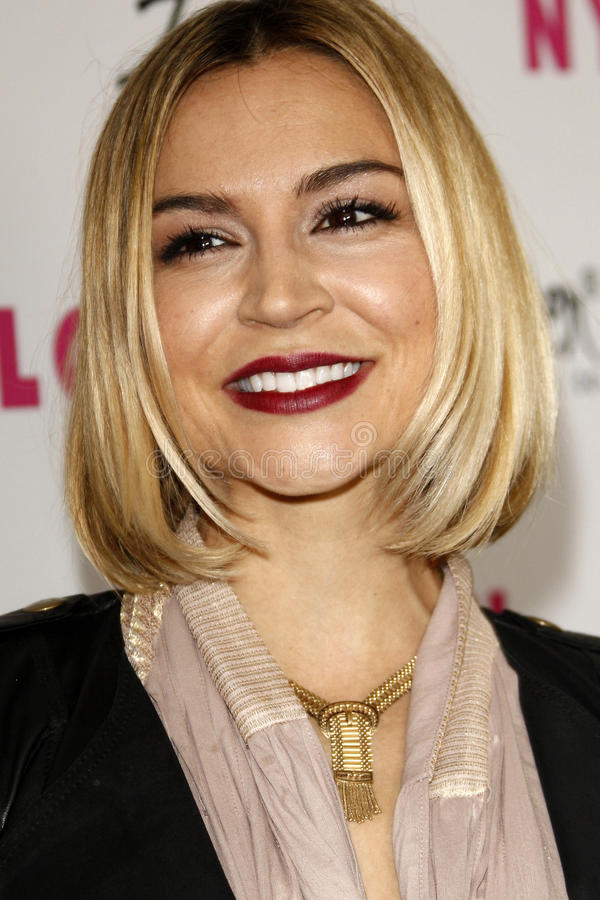 Samaire Armstrong royalty-vrije stock foto