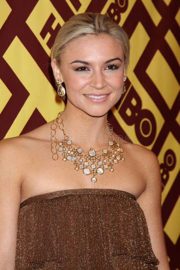 Samaire Armstrong royalty-vrije stock foto's