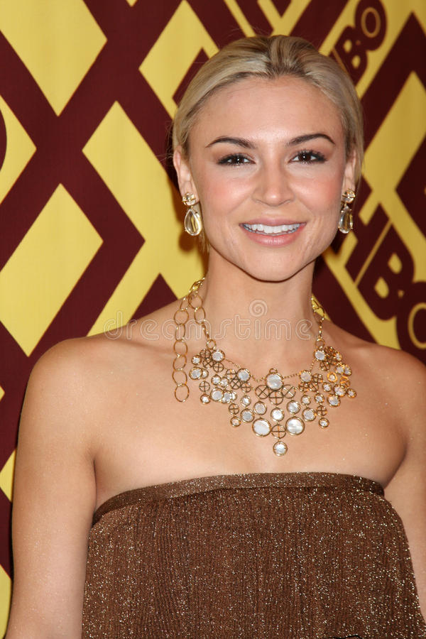 Samaire Armstrong stock foto