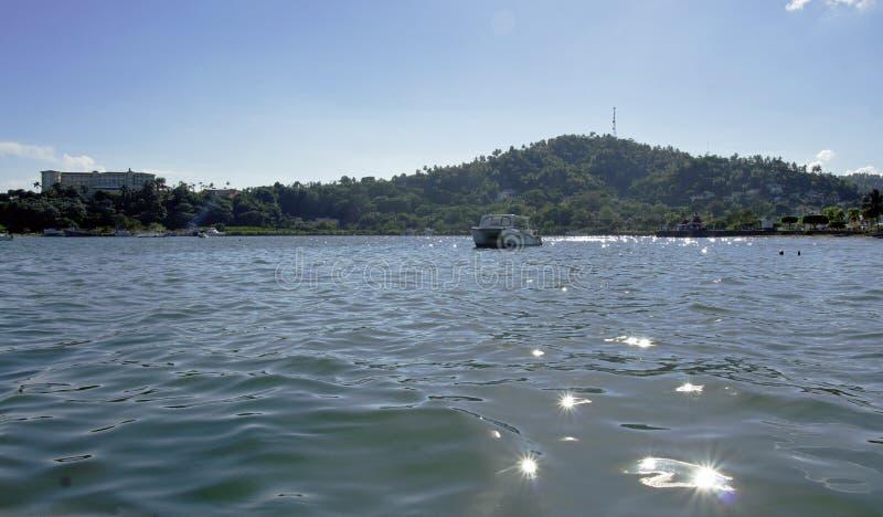Samana bro arkivbild