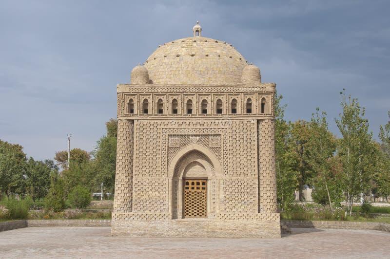 Samanid陵墓在布哈拉 图库摄影