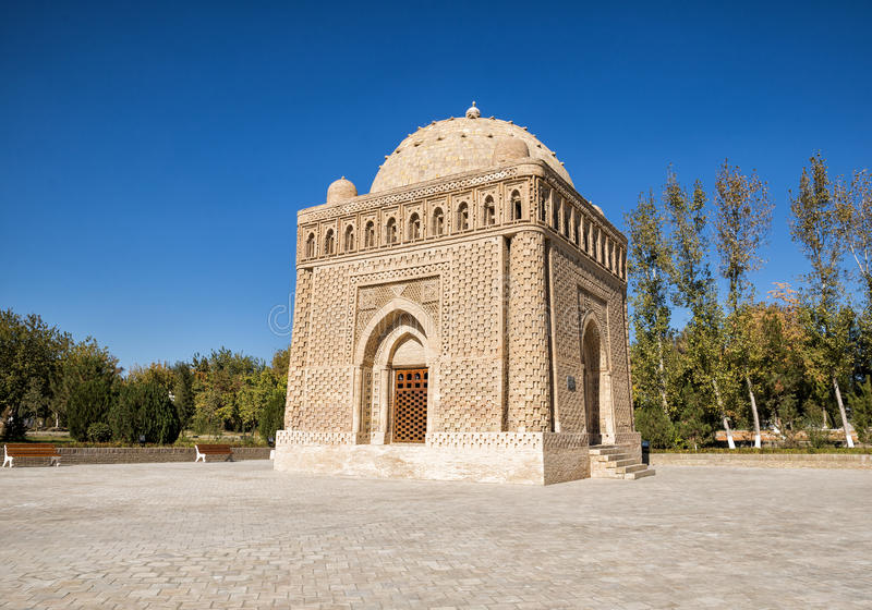 Samanid陵墓 库存图片
