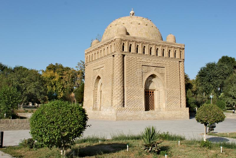 Samanid mauzoleum w Bukhara fotografia stock