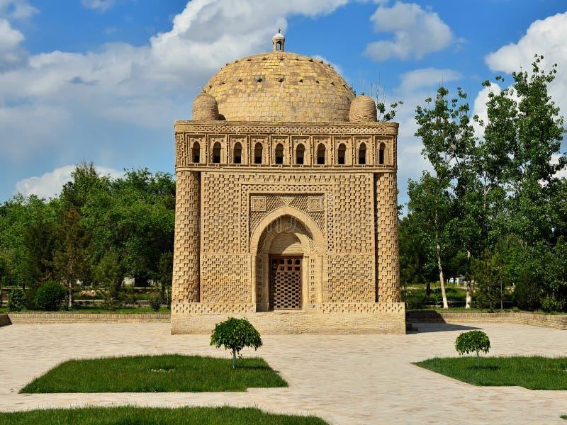 Samanid mauzoleum w Bukhara, Uzbekistan zdjęcia royalty free