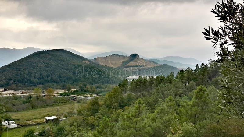 Samanlı山& x28; Turkey& x29; 图库摄影