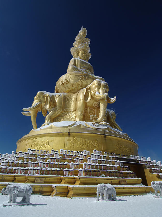 Free Samantabhadra On The MT.Emei Stock Photos - 12156733