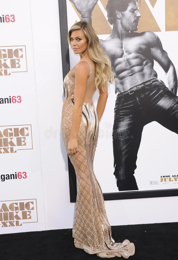 Samantha Hoopes. At the World premiere of 'Magic Mike XXL' held at the TCL Chinese Theatre in Hollywood, USA on June 25, 2015 stock images