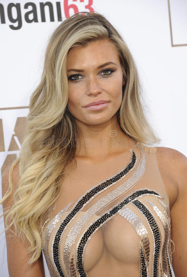 Samantha Hoopes. At the World premiere of 'Magic Mike XXL' held at the TCL Chinese Theatre in Hollywood, USA on June 25, 2015 stock image
