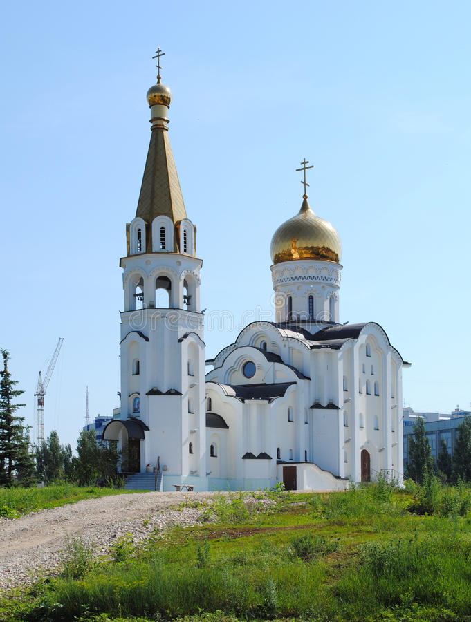 samara Η εκκλησία του ST Τατιάνα στοκ εικόνα
