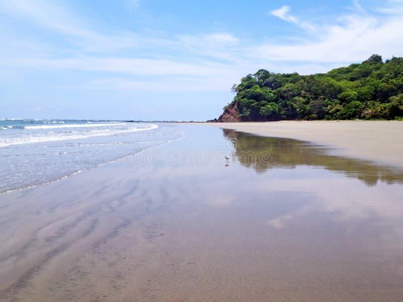 Samara de Playa em Costa Rica fotos de stock