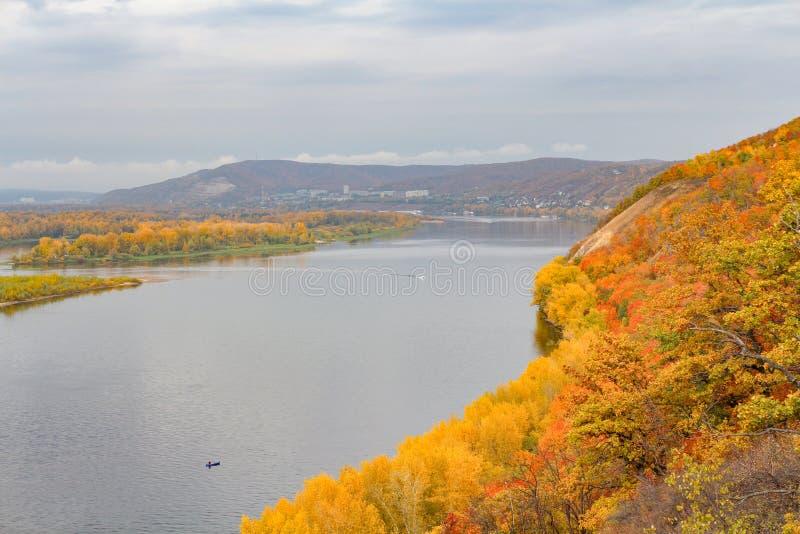Samara na Volga rzece zdjęcia royalty free