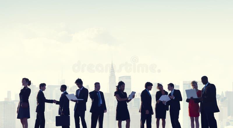 Samarbete Team Teamwork Professional Concept för affärsfolk royaltyfria bilder