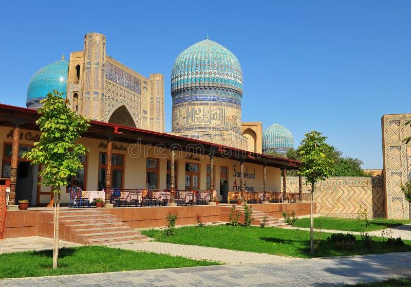 Samarcanda: moschea del khanym di bibi immagine stock