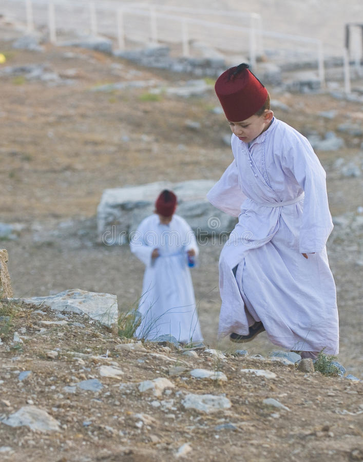 Download Samaritan Shavuot pray editorial image. Image of traditional - 25437935