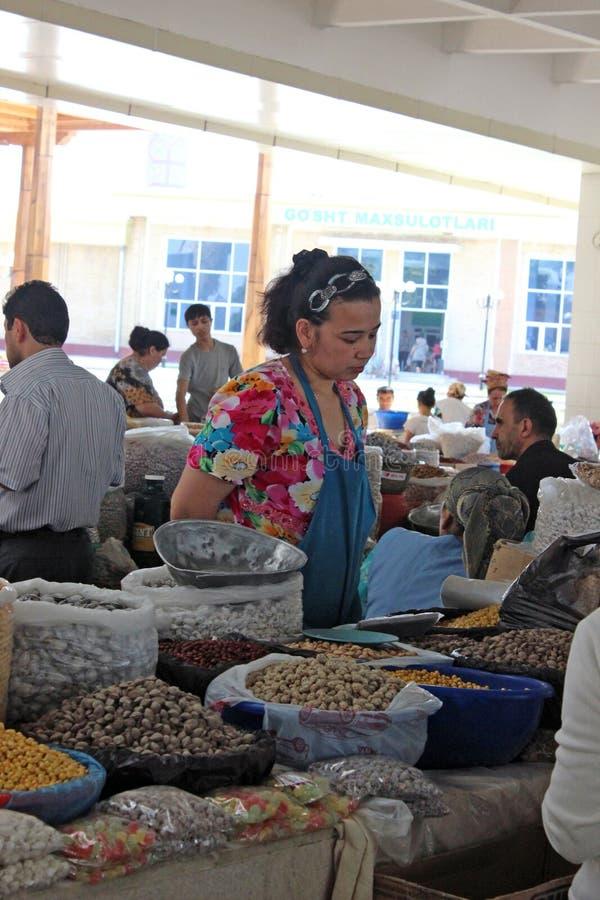 Samarkand bazar obraz stock