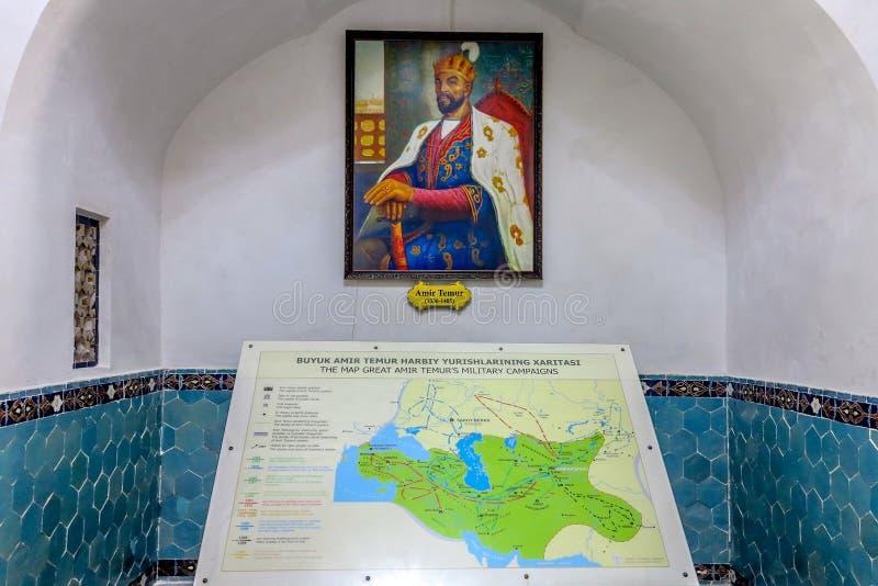 Samarkand Gur-e Amir Mausoleum 06 stock photos