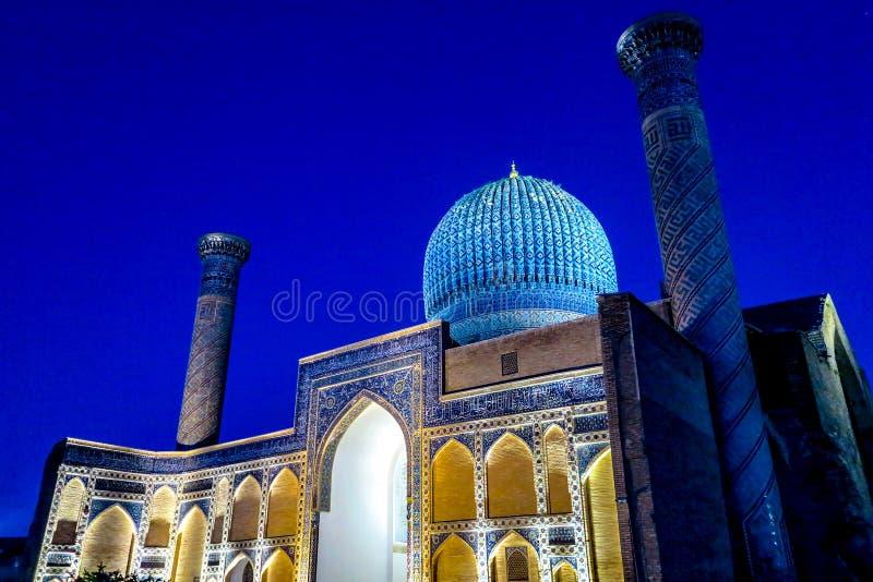 Samarkand Gur-e emira mauzoleum 35 zdjęcie stock