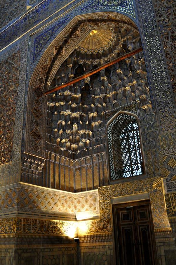 Samarkand. Gur-eemir stockfotos