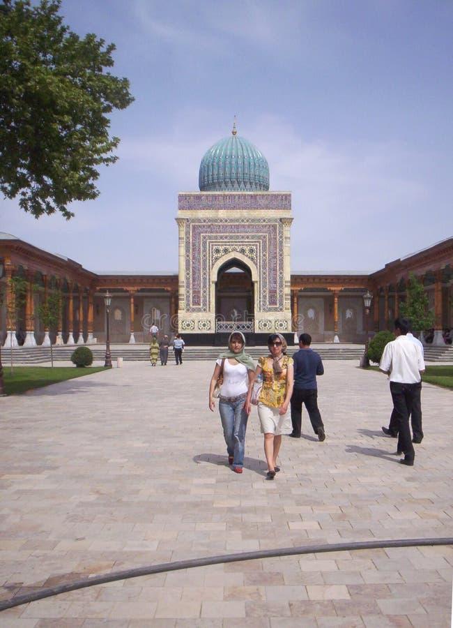 samarkand Herdenkings Complex van Imam Al-Bukhari royalty-vrije stock afbeeldingen