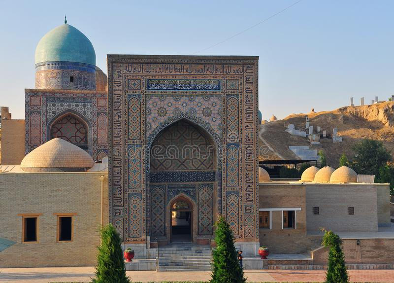 Samarkand: Schah-ich-zindator lizenzfreie stockfotografie