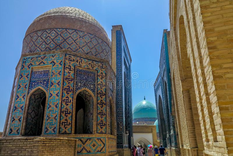 Samarkand Shah-i-Zinda 32 obrazy stock