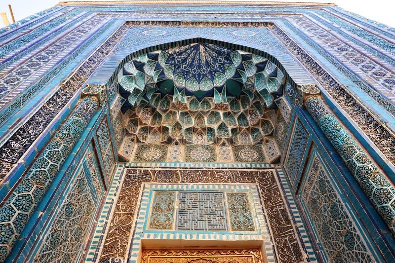 Samarkand: traditional pattern. Samarkand: the traditional uzbek pattern royalty free stock photography