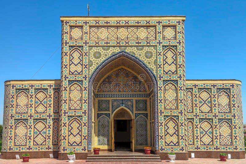 Samarkand Ulugh tigger observatorium 01 royaltyfri fotografi