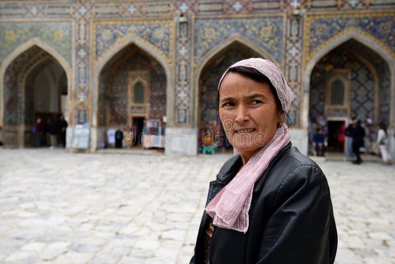 Samarkand, Usbekistan, Seiden-Weg lizenzfreies stockfoto