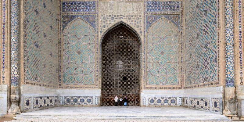 Samarkand Uzbekistan arkivfoton