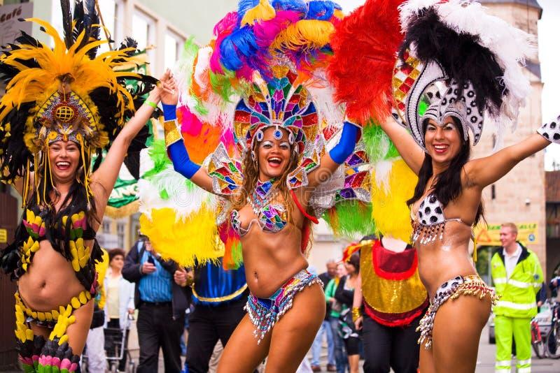 Samba καρναβάλι Coburg 5 στοκ φωτογραφία με δικαίωμα ελεύθερης χρήσης