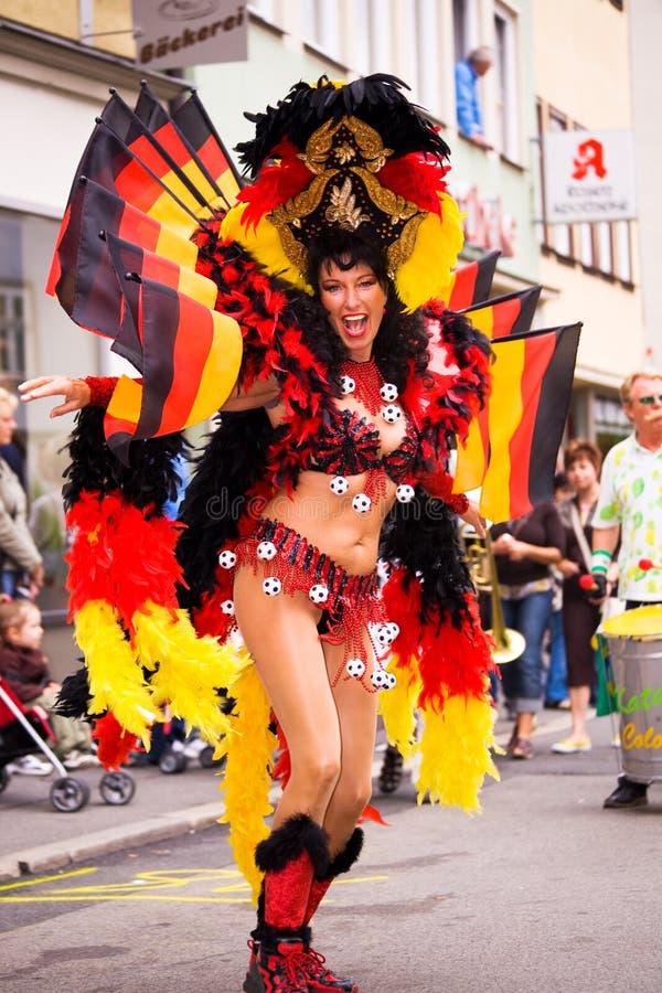 Samba carnival in Coburg 8 stock photography
