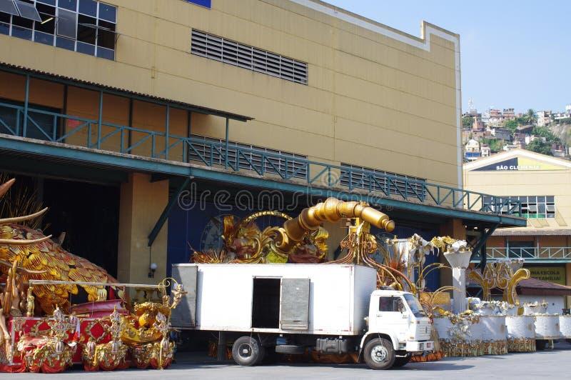 Samba City em Rio de janeiro fotografia de stock