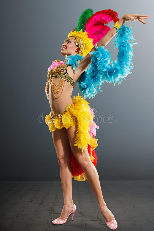 Samba Dancer fotos de stock royalty free