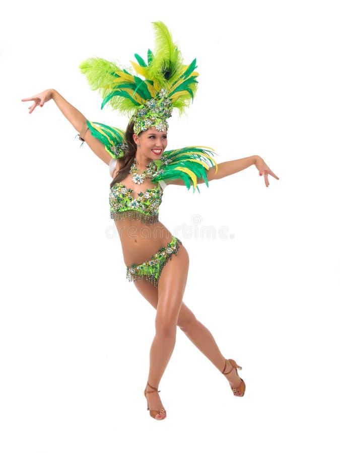 Samba Dancer foto de stock royalty free