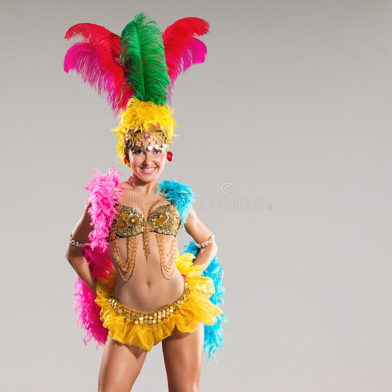Samba Dancer photographie stock libre de droits