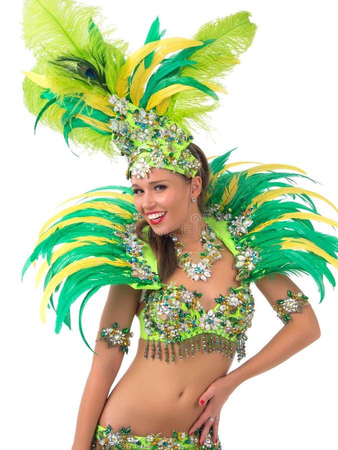 Samba Dancer imagens de stock royalty free