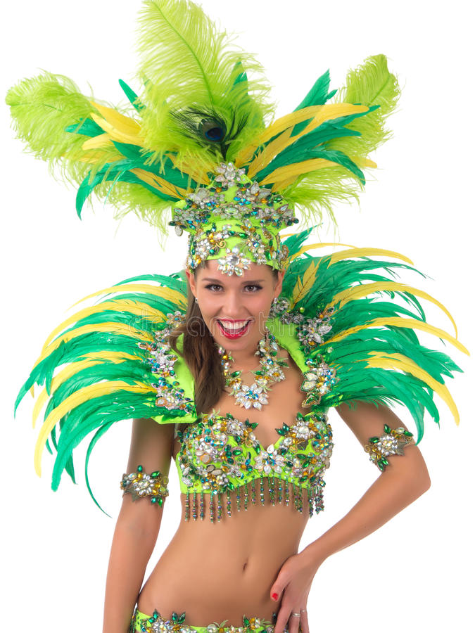Samba Dancer foto de stock