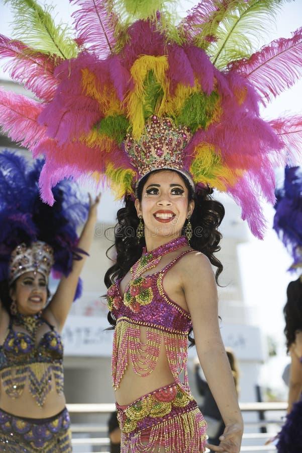 Samba Dancer fotografia de stock royalty free