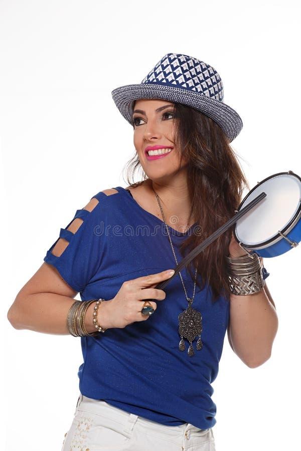 Samba Dancer fotografia de stock
