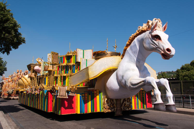 Samba School Cars royalty free stock photography