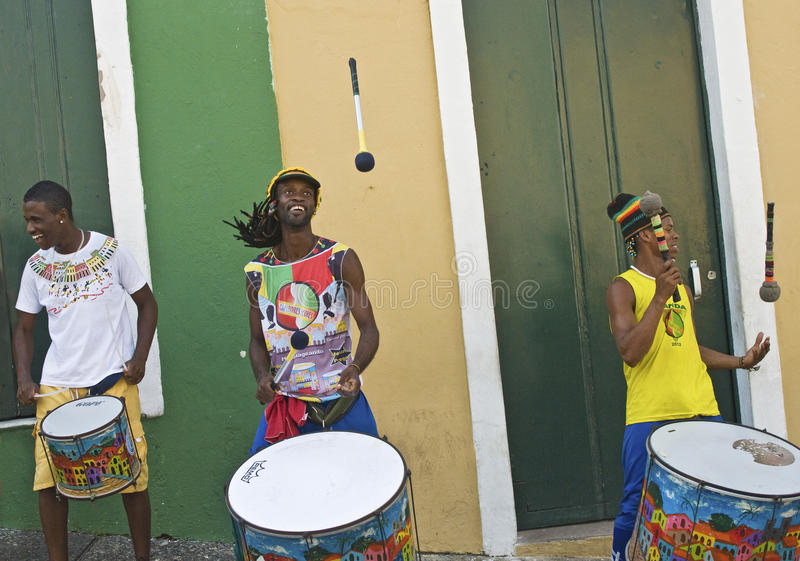 Download Samba street performers editorial photo. Image of olodum - 29802551