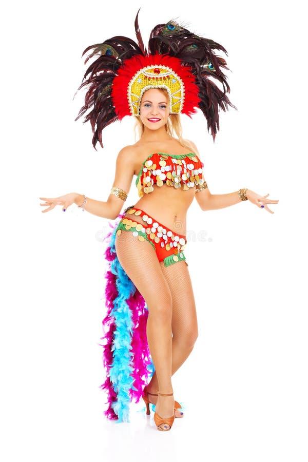 Samba tancerz obraz royalty free