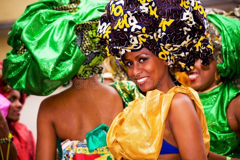 Sambakarneval stockbilder