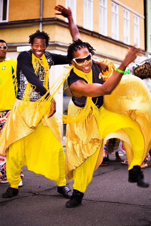 Sambakarneval royaltyfri foto