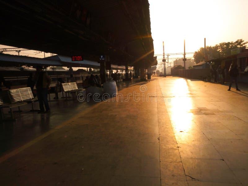 Sambalpur stacja kolejowa obrazy royalty free