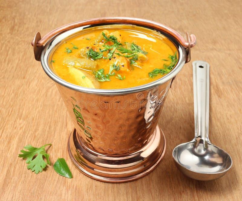 Sambar indio de la verdura de la comida imagen de archivo libre de regalías