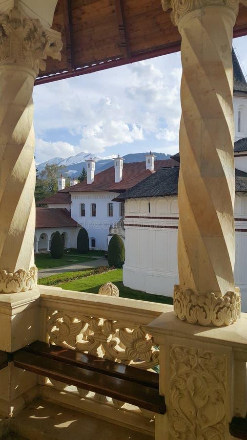 Sambata De Sus monaster fotografia royalty free