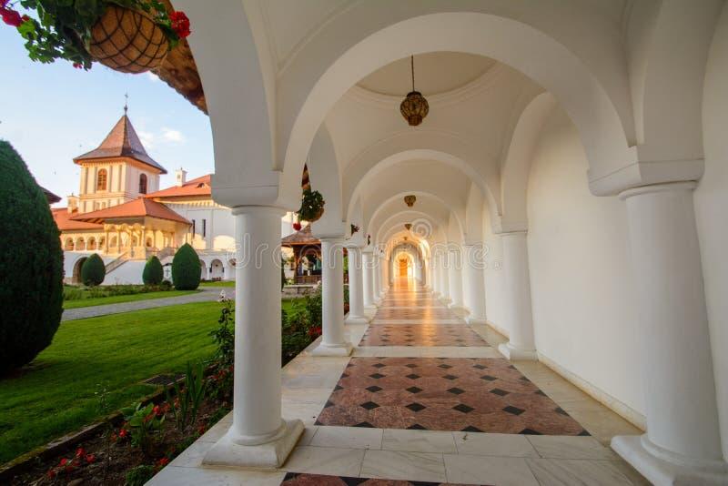 Sambata de Sus Monastery,罗马尼亚美丽的景色  免版税库存图片
