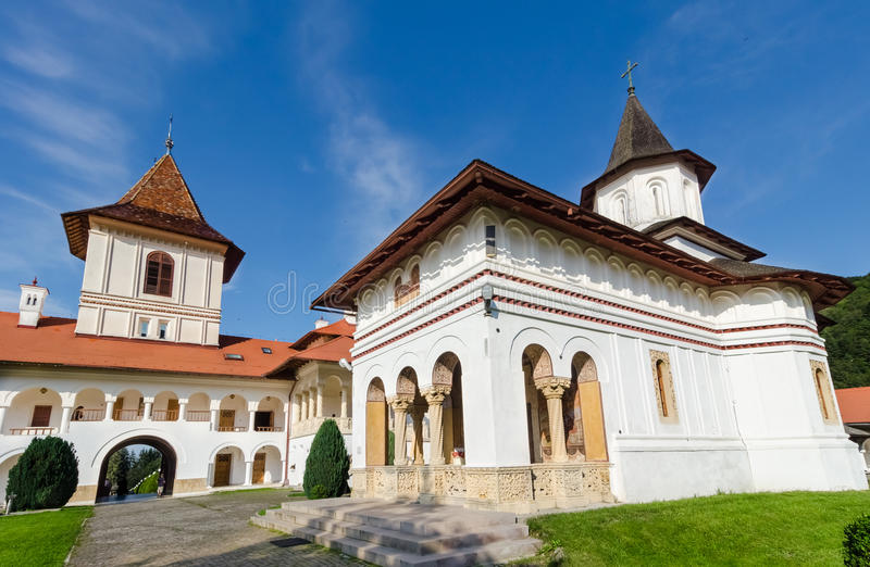 Sambata-Klosterkomplex stockbild
